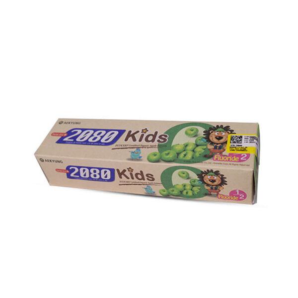 خمیردندان بچه 2080 با طعم سیب، فلوراید دار