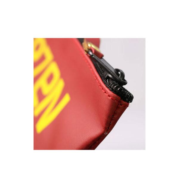 کیف لوازم آرایشی سون رنگ قرمز