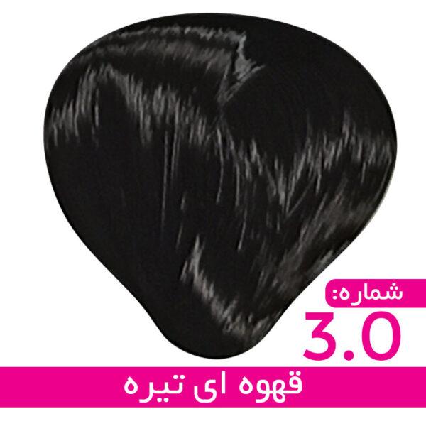 رنگ مو استیل – 3 – قهوه ای تیره