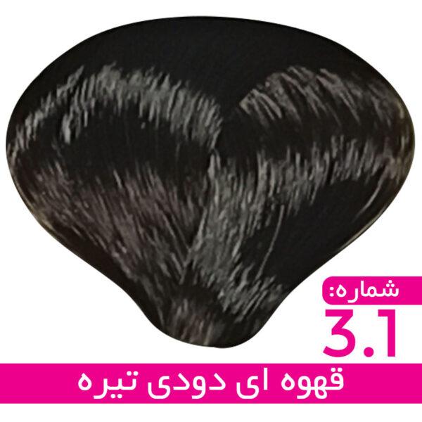 رنگ مو استیل - قهوه ای دودی تیره