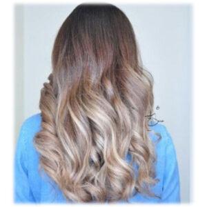 رنگ مو بلوند فولیاژ