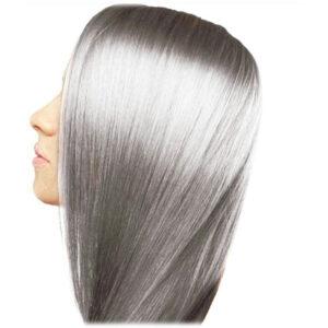 رنگ مو دودی به روش بالیاژ