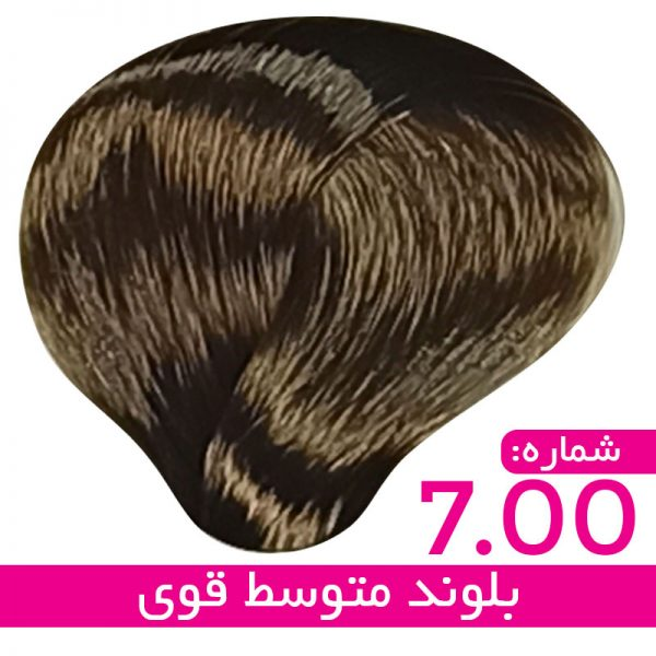 رنگ مو استیل - بلوند متوسط قوی