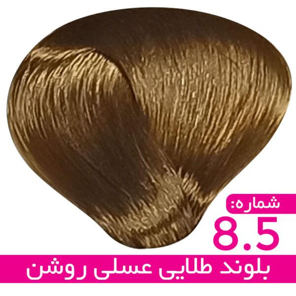 رنگ مو استیل – 8/5 – بلوند طلایی عسلی روشن