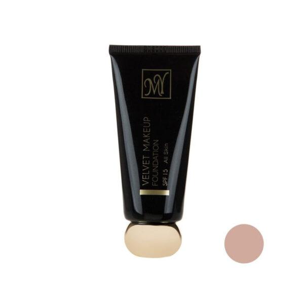کرم پودر مای مدل Velvet Makeup شماره 04